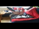 Amateurvideo Dildofick im blauen Lackkleid from Poppschlampe