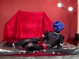 Amateurvideo Shiny loll on the bed from transihansi