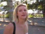 Amateurvideo Spermawalk MITTEN in FRANKFURT!!! von DaddysLuder