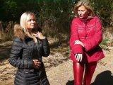 Amateurvideo Mit Christina in Daunenjacken und Leggins von sexyalina