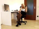 Amateurvideo Analsprengung! Büroschlampe bekommt alle Löcher zerfickt! von Daynia