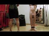 Amateurvideo Sadistische Bestrafung und Erniedrigung eines aufsässigen Sklaven von BarbaraVonStahl