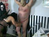 Amateurvideo Creepy BDSM Torture on Halloween von LadyVampira