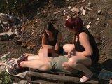 Amateurvideo der Penner von der Müllhalde 2 von TittenCindy