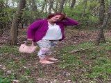 Amateurvideo kontrolle am wegesrand von hexse68
