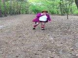Amateurvideo im wald kontrolle von hexse68