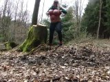 Amateurvideo Im Wald gibts immer geile Jogger ! from KimVanDyke