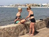 Amateurvideo Ebi-Shibari at the Seaside von BondageMallorca