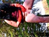 Amateurvideo IM OKTOBER = PISSEN IN von ringanalog