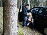 Amateurvideo Zufallstreffer - Jungschwanz im Wald von KimVanDyke