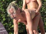 Amateurvideo Frauen-Tausch im FKK-Urlaub von DirtyTina
