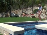 Amateurvideo Sexy unter Wasser - Wet Shirt/Tanga von seXXygirl