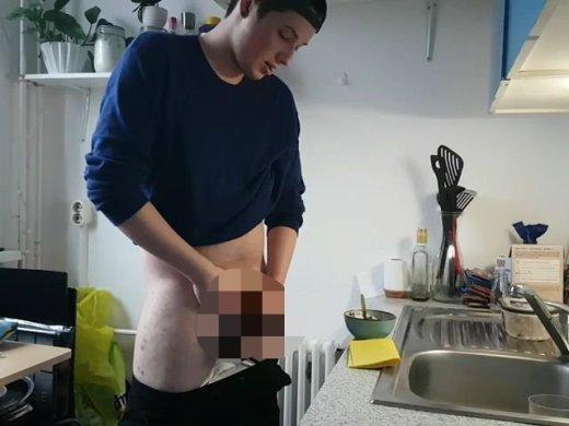 Amateurvideo Dreist ins Eis gewixxt! von Zartes_Fleisch