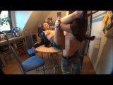 Amateurvideo gefickt und auf die Lederjacke gespritzt von sexyandhot