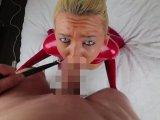 Amateurvideo Extrem perverse Hardcore Abrichtung zur Latex-Sexhure! von Daynia