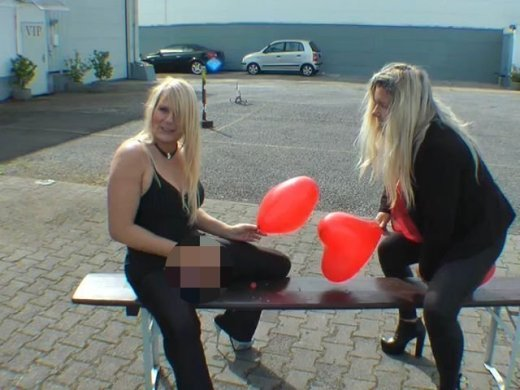 Amateurvideo Ballon Milfs von SusiNRW