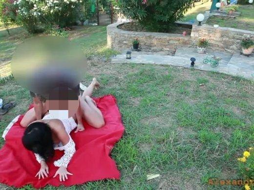 Amateurvideo Public extrem!! Frei Fick im botanischen Garten! von Alexandra_Wett