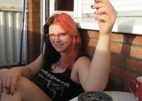Harley24 - Erst mal Sex Privat auf dem Balkon. Psssst nicht so laut