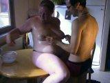 Amateurvideo In der Küche, aus dem Esstisch 1 von crazydesire86