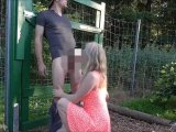 Amateurvideo Spontaner Outdoor Fick von Anni_Trinity
