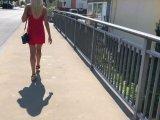 Amateurvideo Das Straßenflittchen! Und das vor allen Leuten...! von Daynia