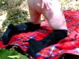 Amateurvideo OKTOBER 2018 = STIEFEL....SEXY IM FREIEN von ringanalog