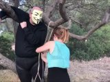 Amateurvideo A Harlekin Suspension TEIL 1 from ProfeHera