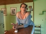 Amateurvideo Dralle Hausfrau from TittenCindy