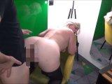 Amateurvideo Versaute Blondine mit geilen Riesenarsch ao auf dem Sessel a von DonJohnXXX